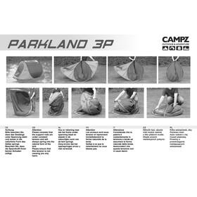 CAMPZ Parkland Telt 3P beige